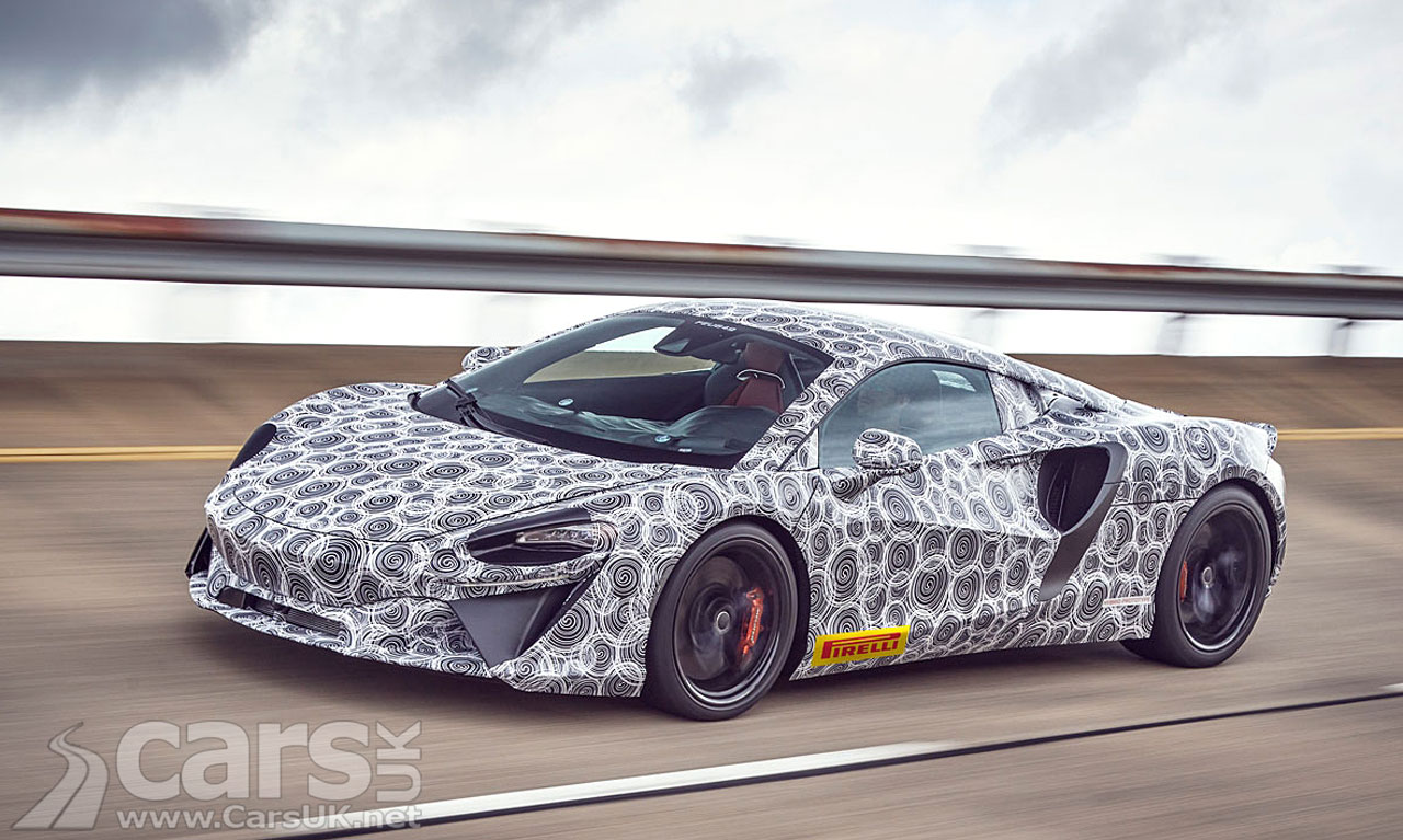 Photo McLaren's new hybrid supercar