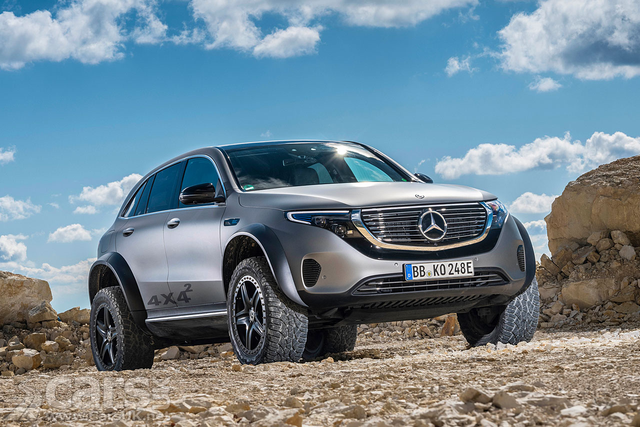 Photo Mercedes EQC 4x4²
