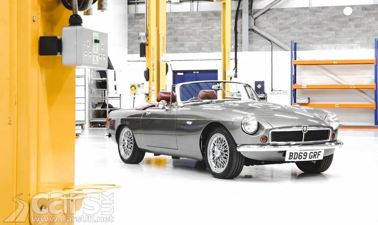 Photo RBW EV Roadster Electric MGB