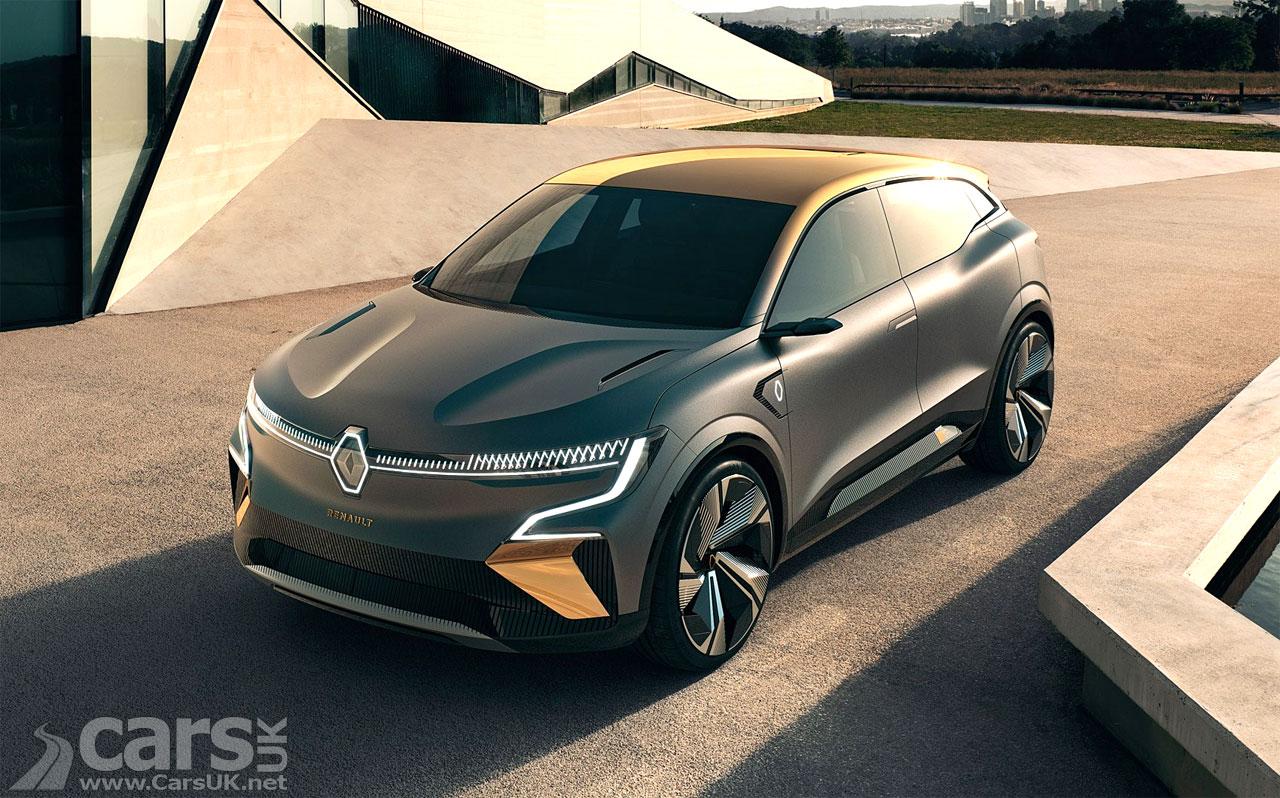 Photo Renault Megane eVision Concept