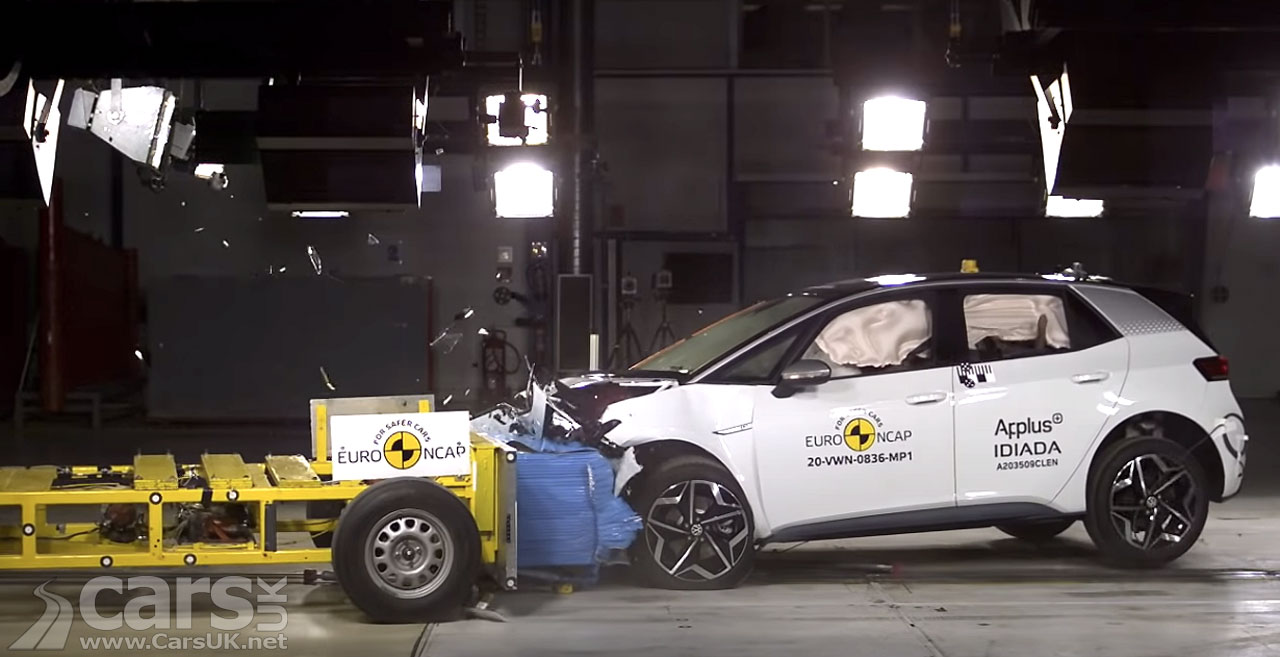 Photo VW ID.3 5 Star Euro NCAP Test