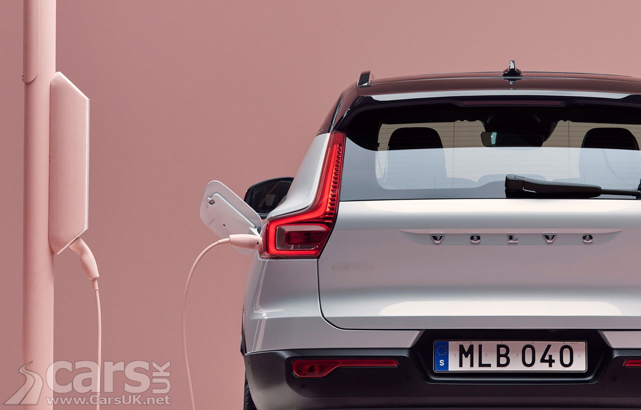 Photo Volvo XC20 SUV Electric Recharge on the way