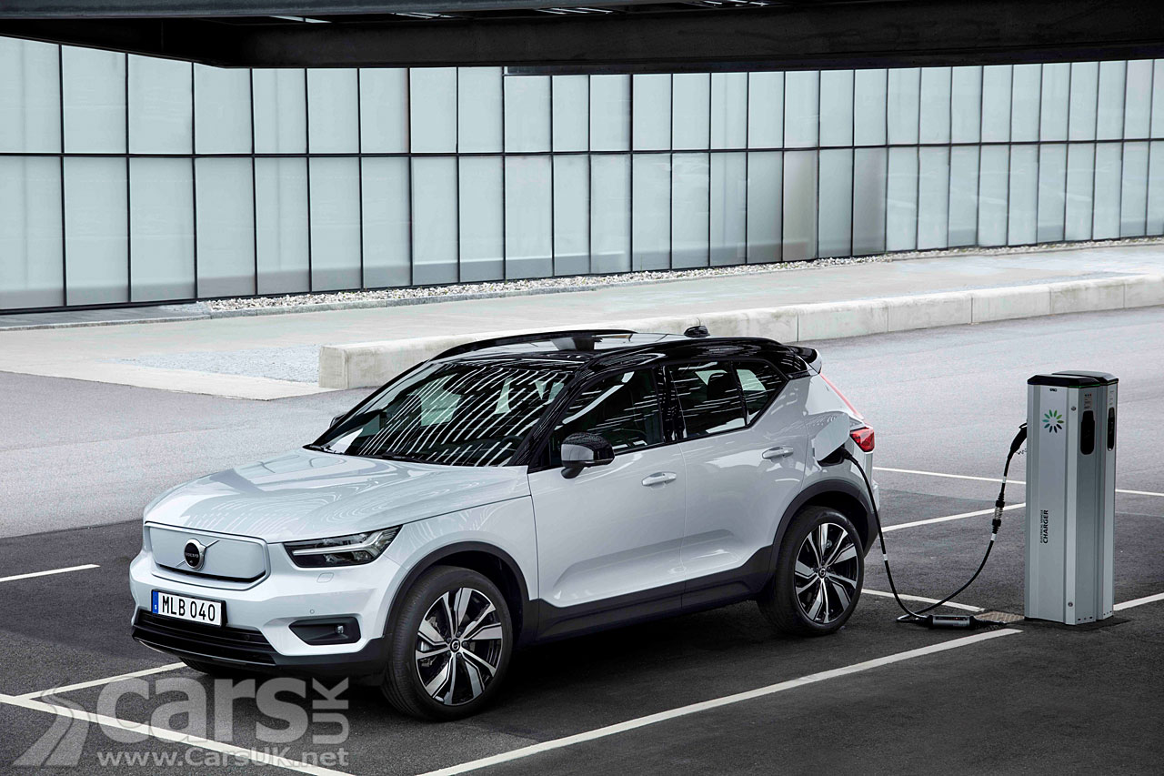 Photo Volvo XC40 Recharge P8 AWD Silver
