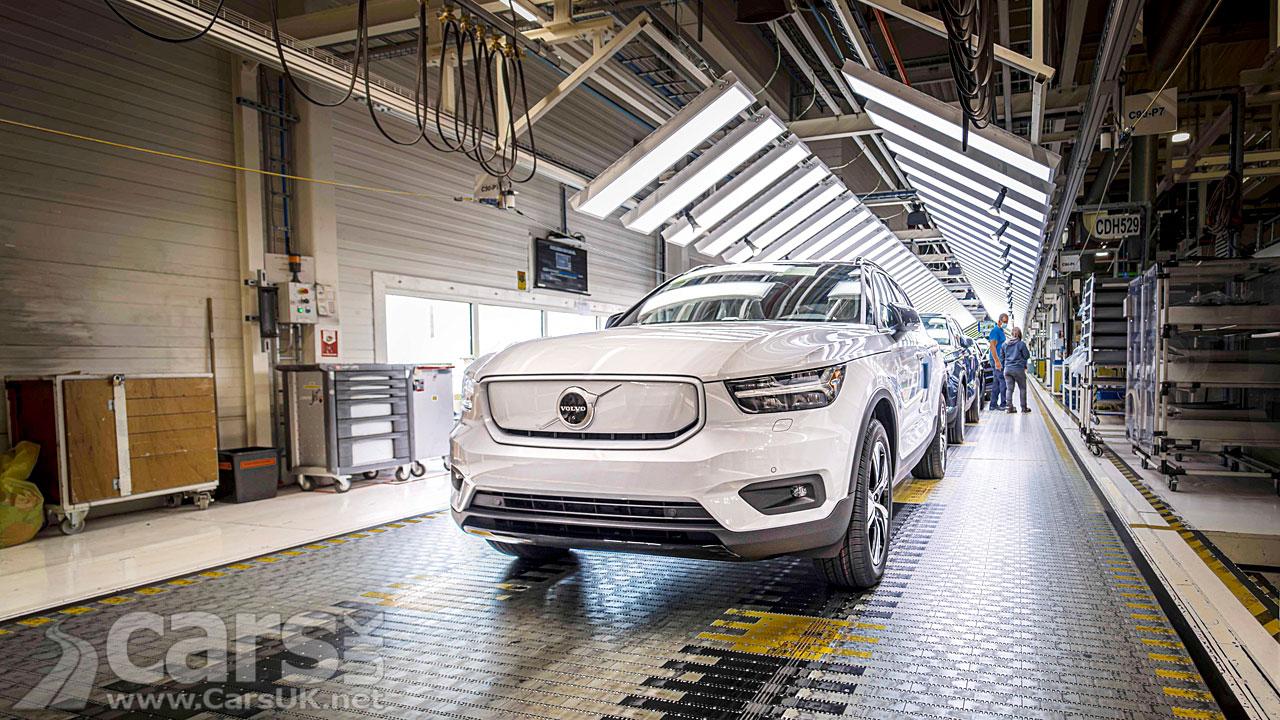 Photo Volvo XC40 Recharge Production