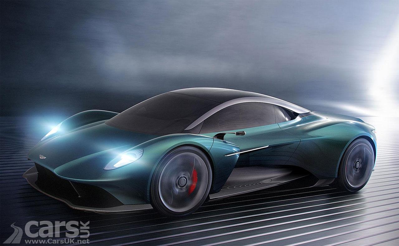 Photo Aston Martin Vanquish Vision Concept
