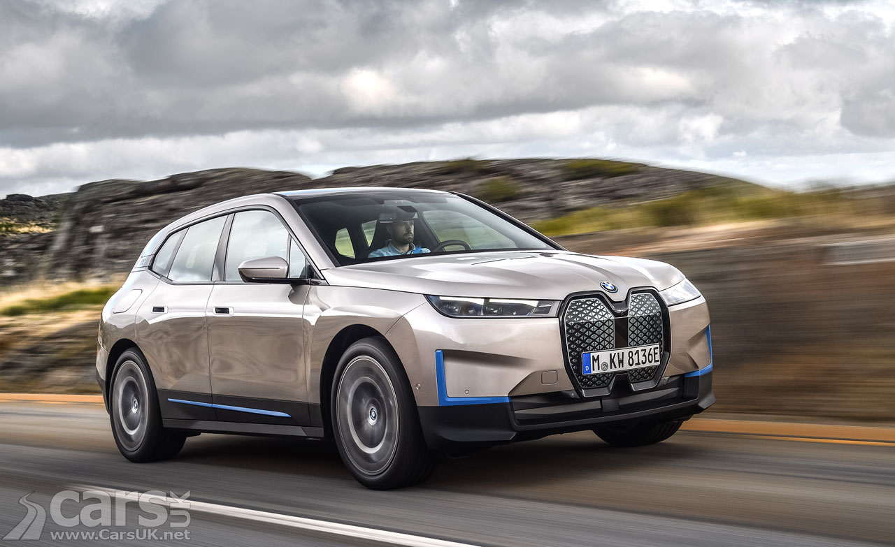 Photo New BMW iX electric SUV REVEALED