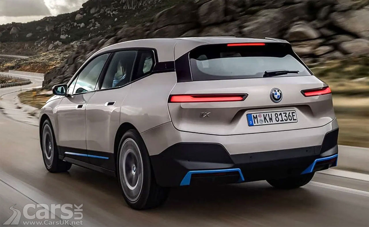 Photo BMW iX (iNext, iX5) LEAK