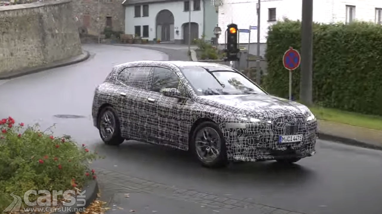 Photo BMW iNext / iX / iX5 SPIED