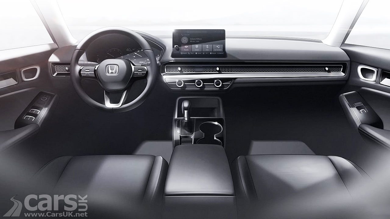 Photo New Honda Civic Saloon Prototype Interior