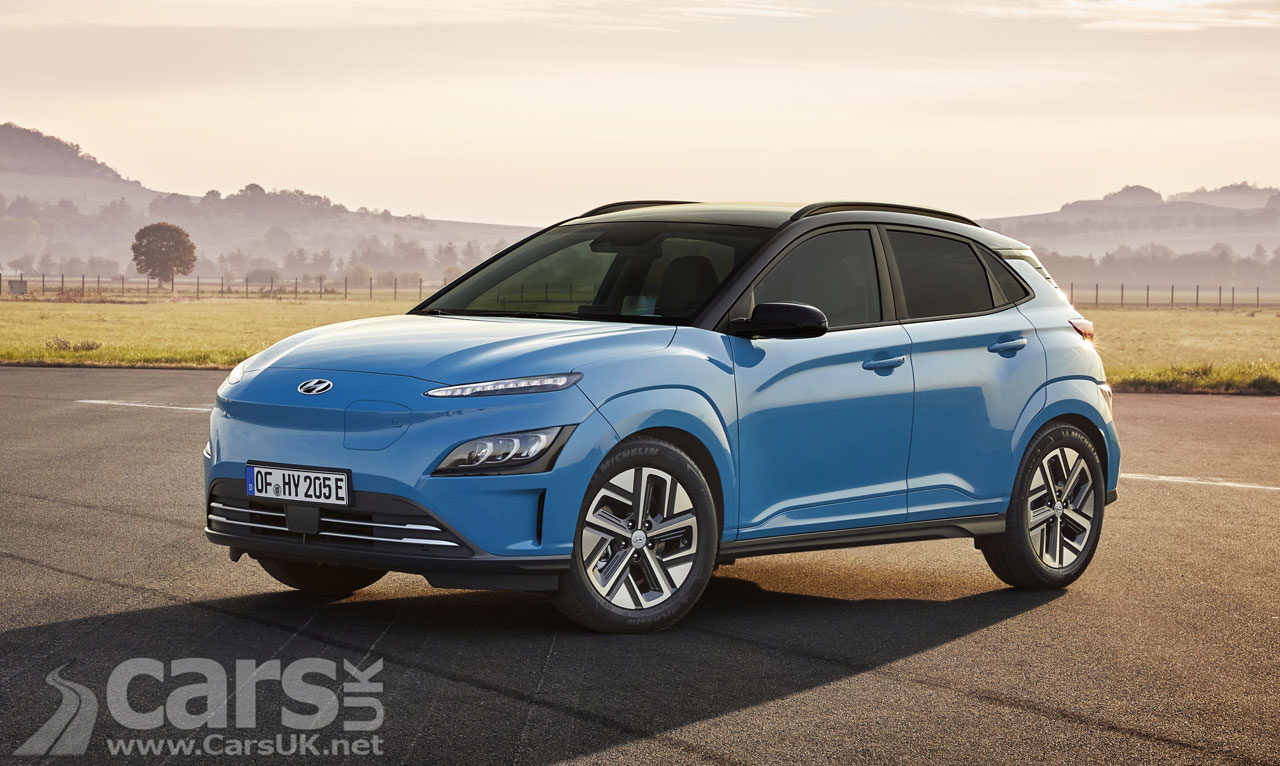 Hyundai Kona Electric gets a new look and added tech | Cars UK