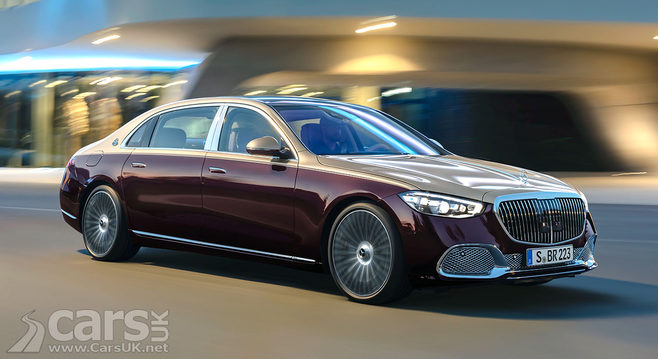 Photo 2021 Mercedes-Maybach S-Class