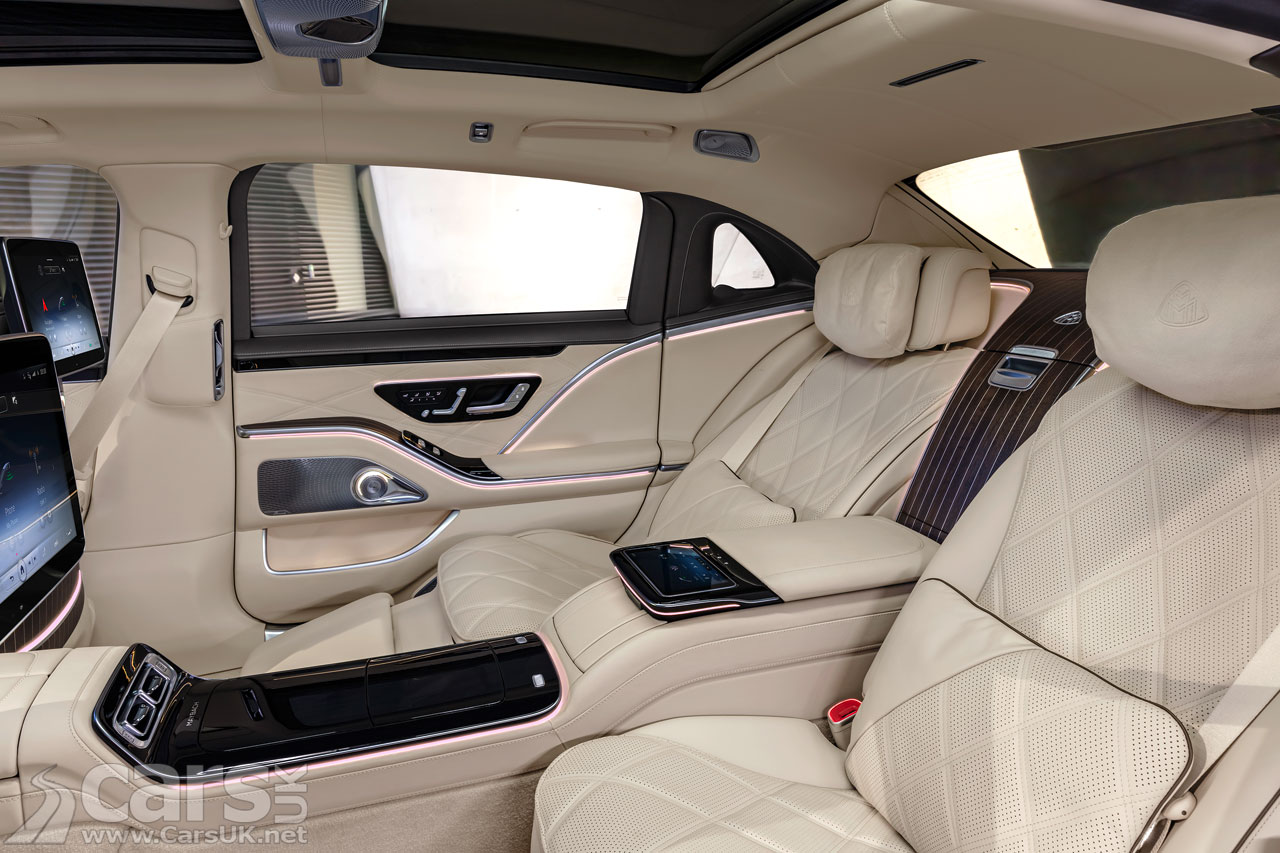 Photo New Mercedes-Maybach S-Class Interior