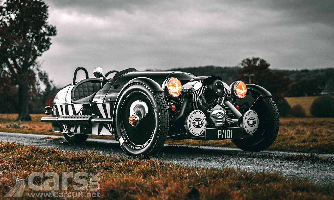 Photo Morgan 3 Wheeler P101 Edition