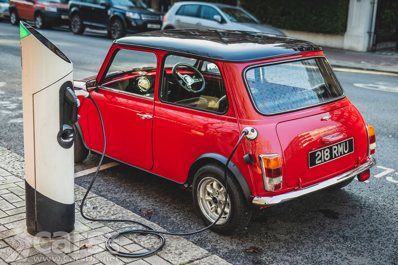 Photo Swindon E classic Mini EV Conversion