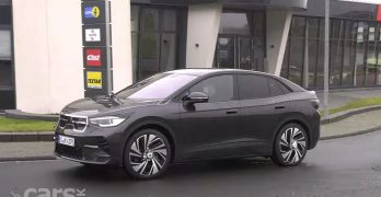 Photo Electric Volkswagen ID.4 COUPE spied