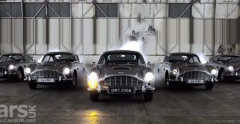 Photo five Aston Martin DB5 Goldfinger Continuation