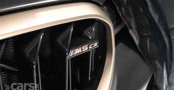 photo BMW M5 CS Tease