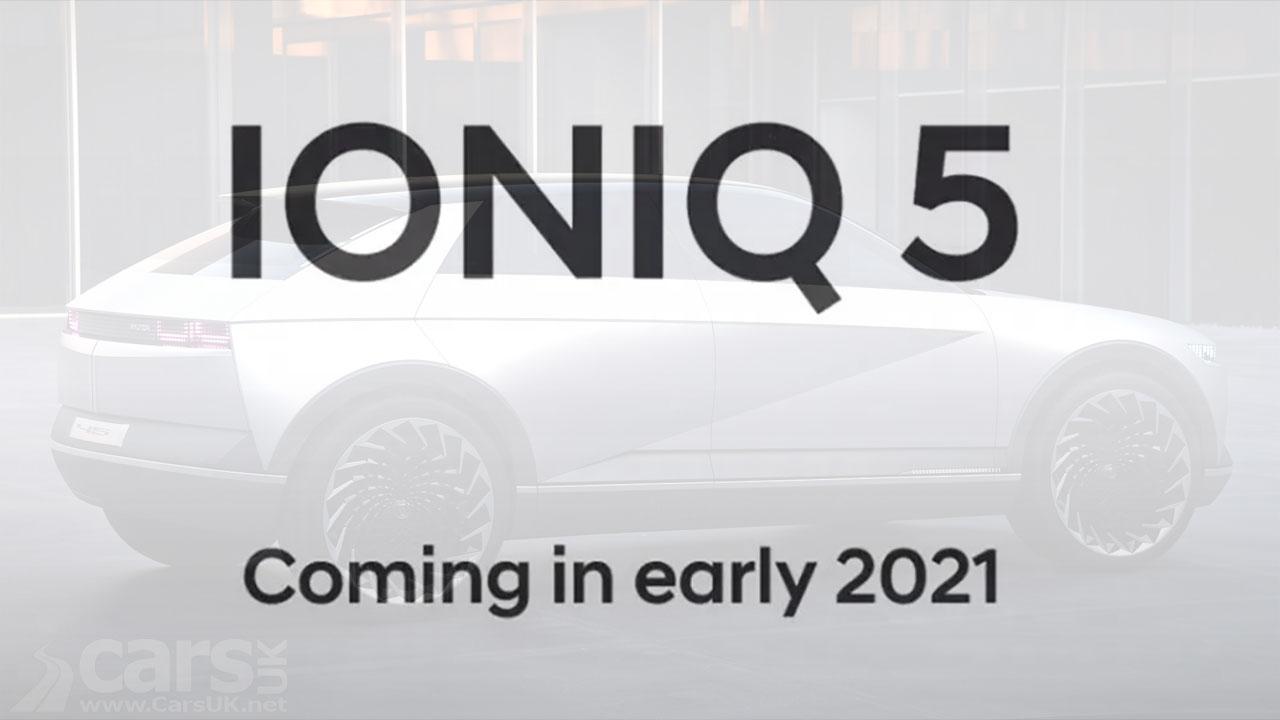 Photo Hyundai's Ioniq 5 Tease