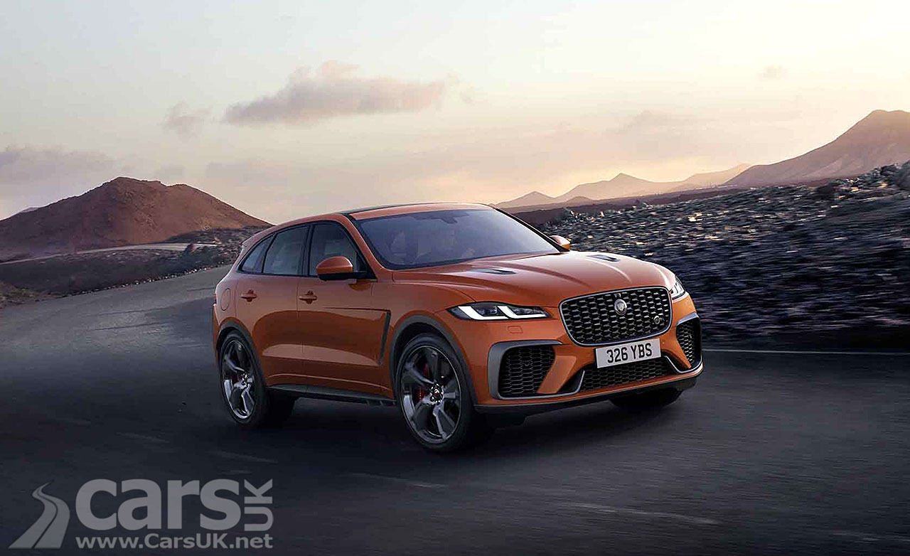 jaguar f-pace svr updated and refined for 2021 | cars uk