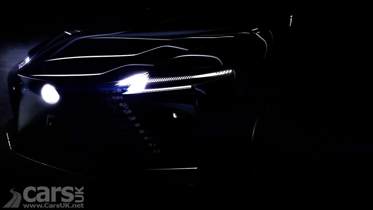 Photo Electric Lexus tease