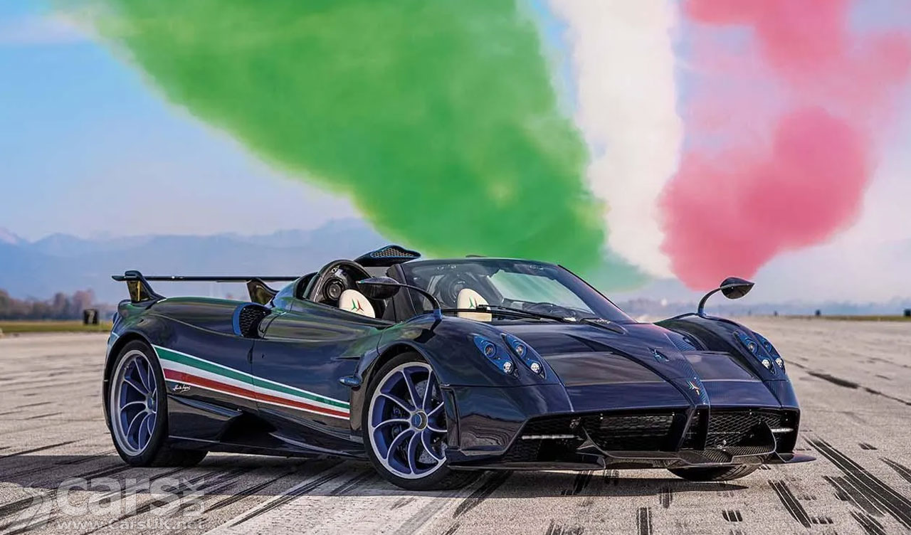 Photo Pagani Huayra Tricolore