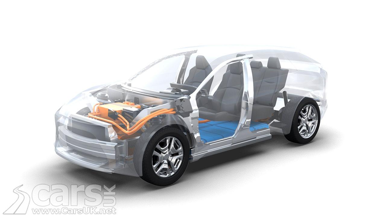 Photo Electric Subaru SUV confirmed