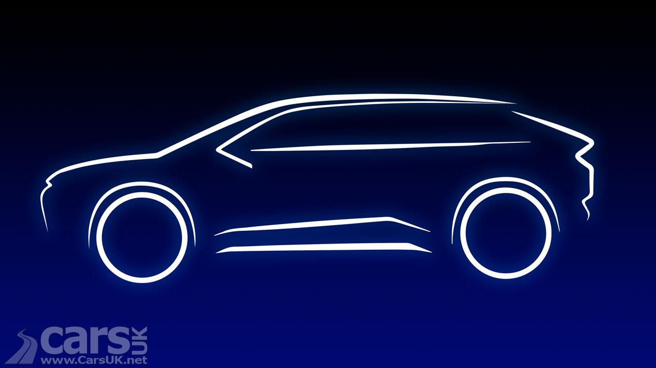 Photo New Electric Toyota SV line sketch