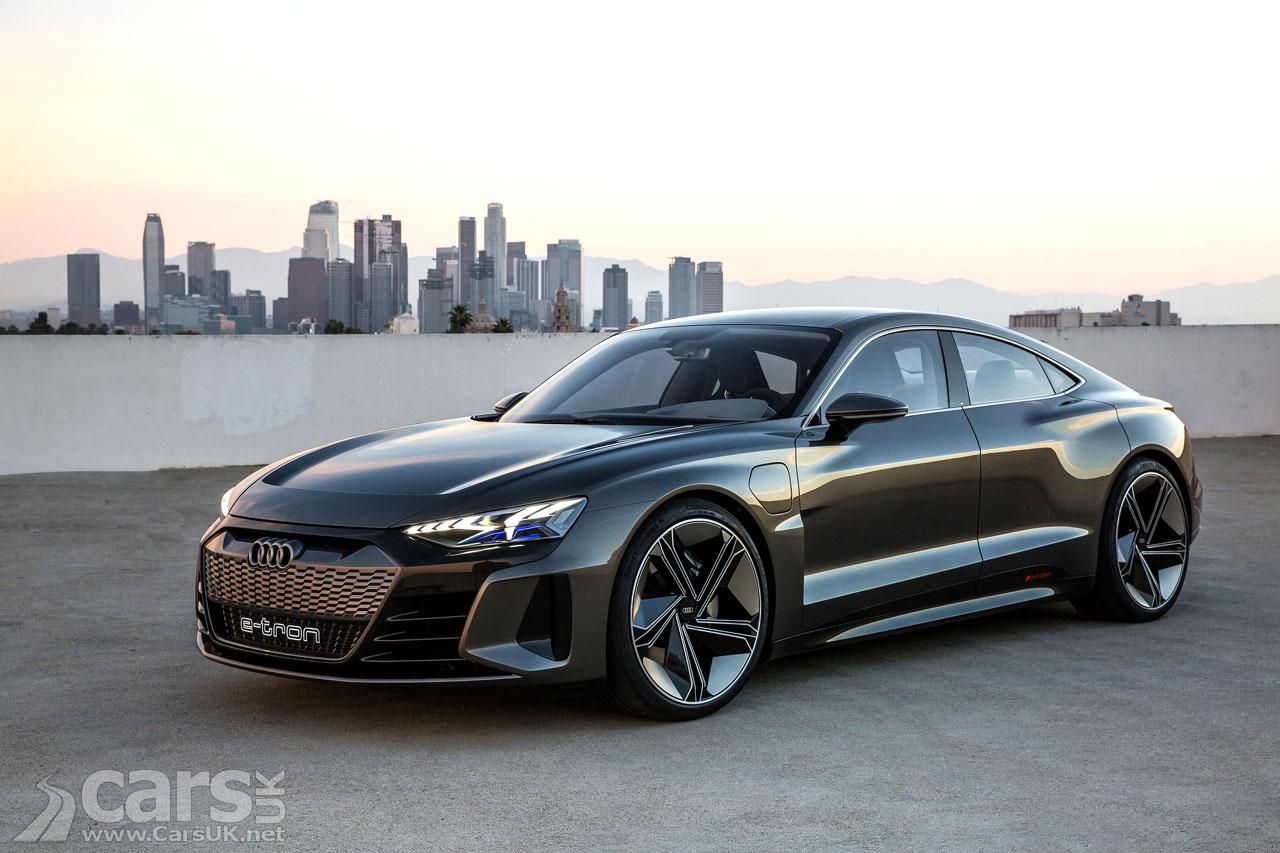 Photo Audi e-Tron GT