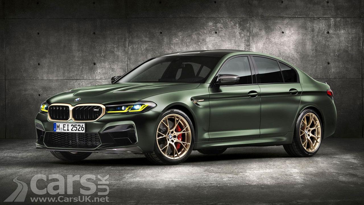 Photo New BMW M5 CS