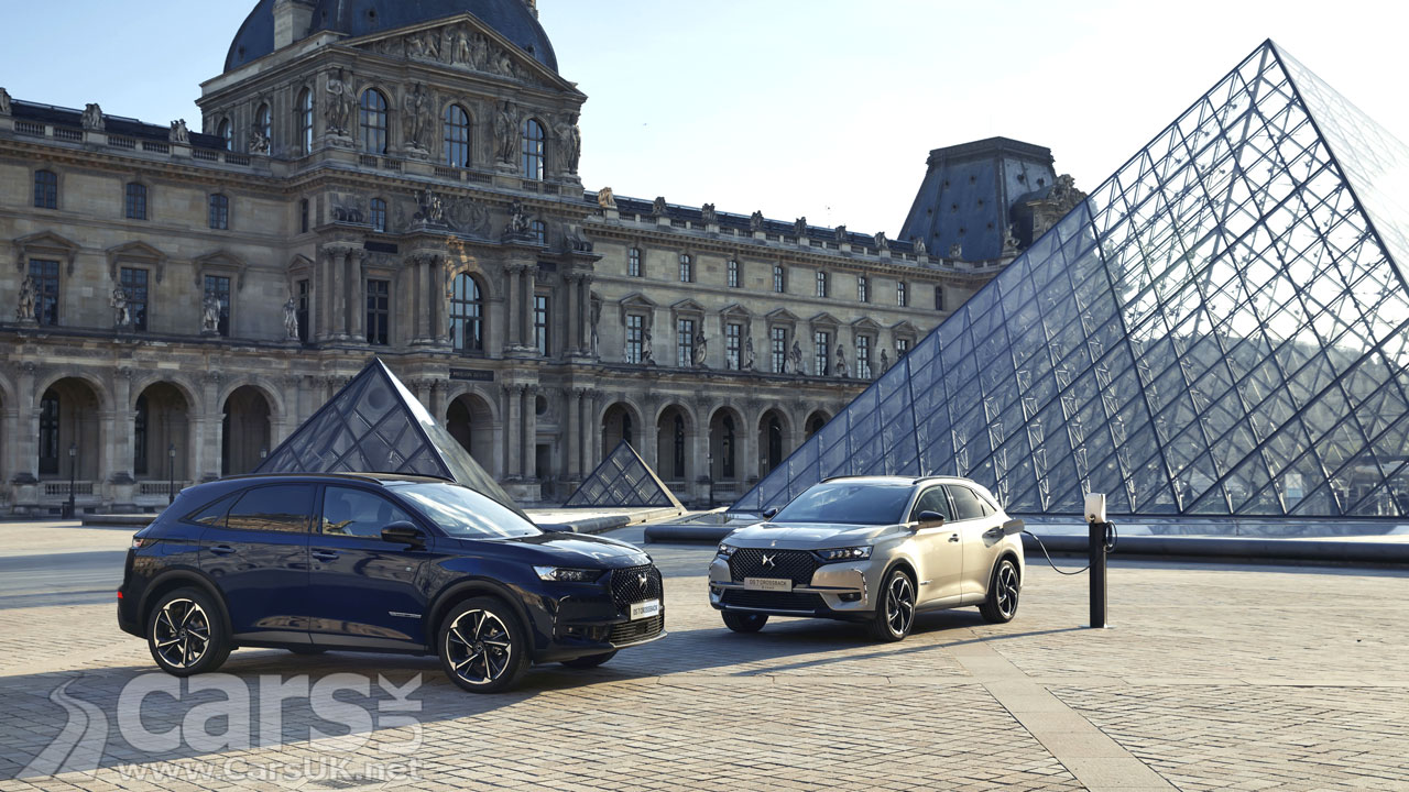 Photo DS 7 Crossback Louvre