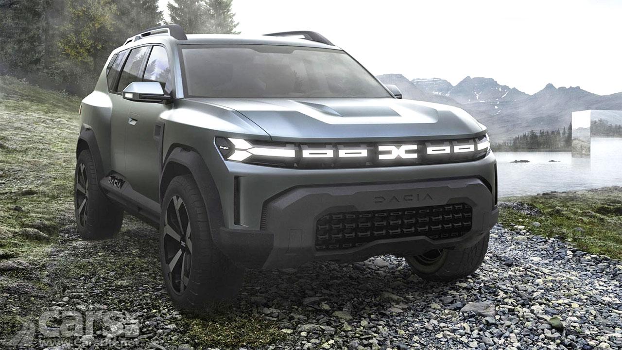 Photo Dacia Bigster Concept