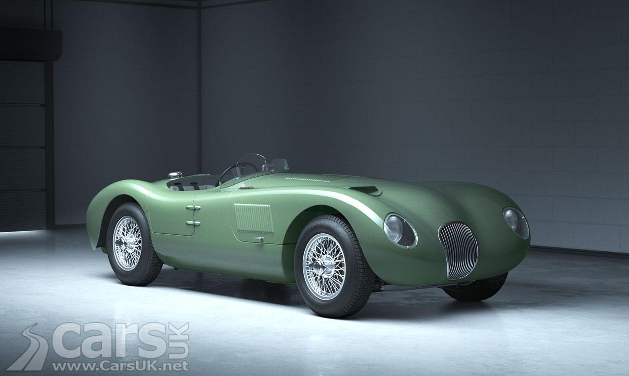 Photo Jaguar C-type Continuation