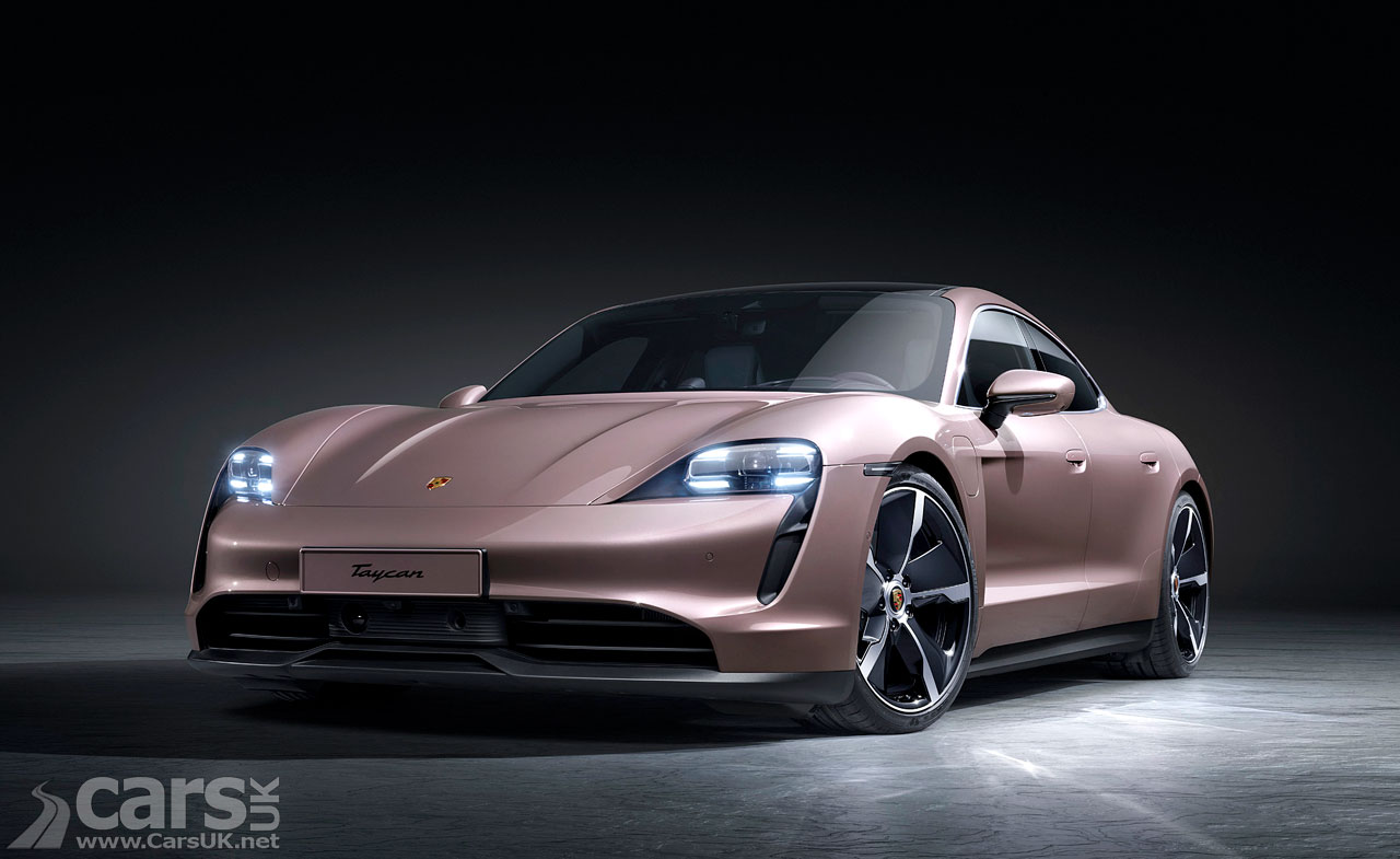 Photo New entry level electric Porsche Taycan