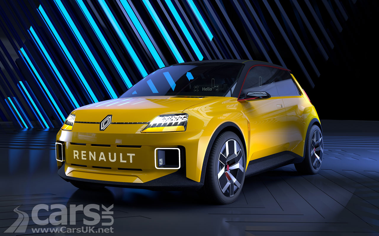 Photo Renault 5 EV Prototype