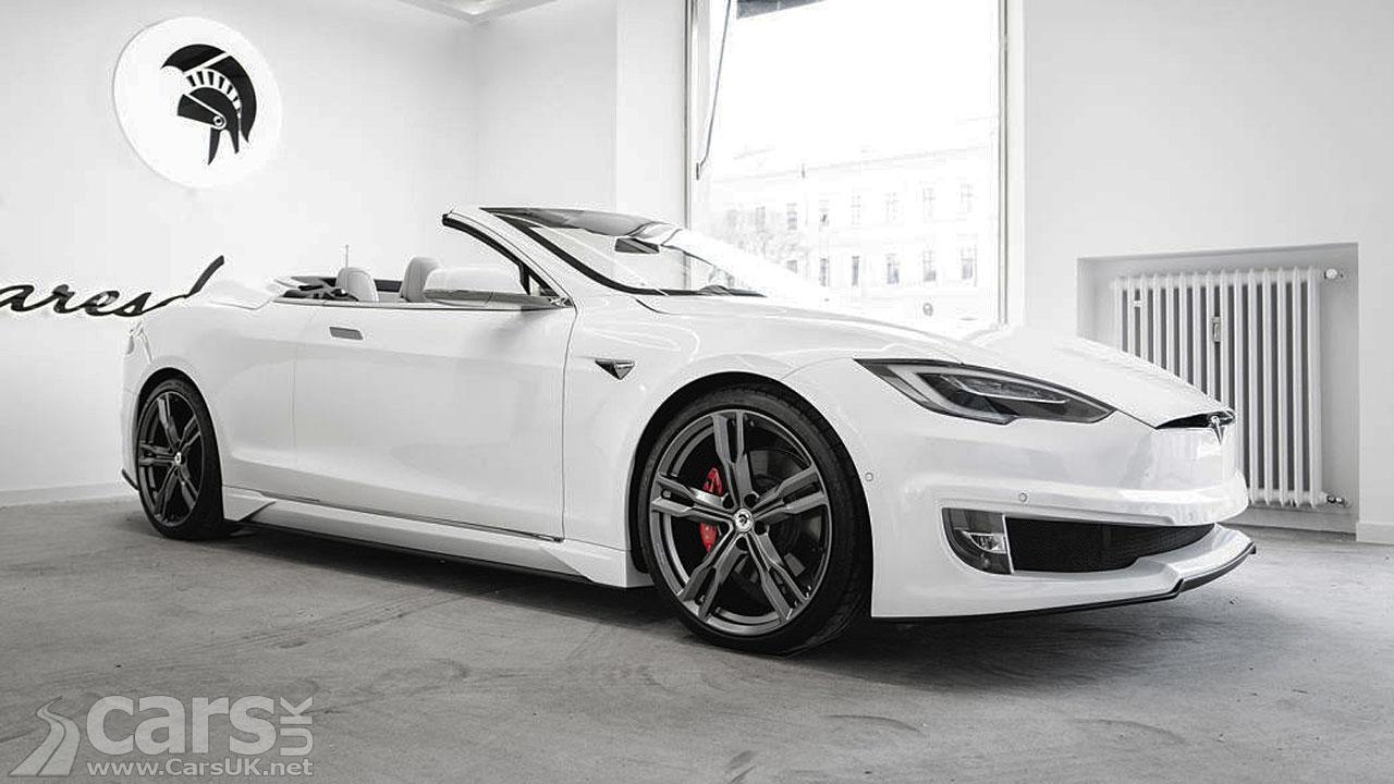 Photo Tesla Model S Convertible