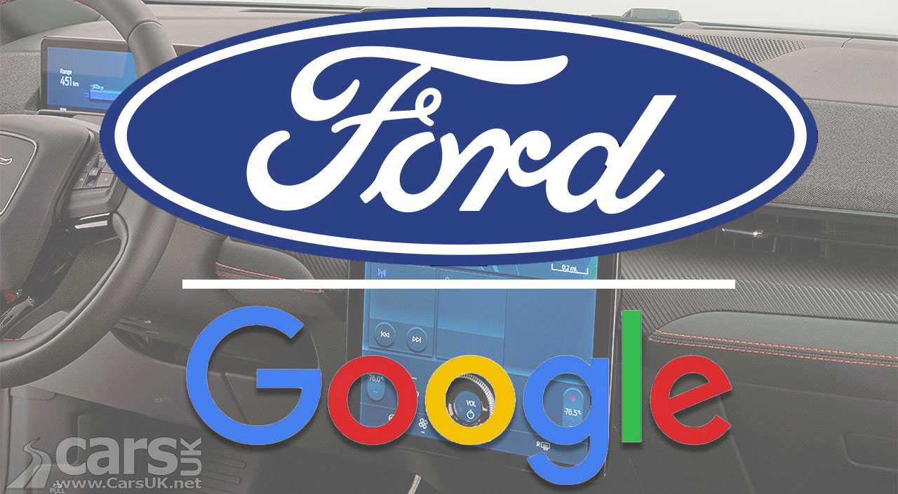 Photo Ford partners with Google