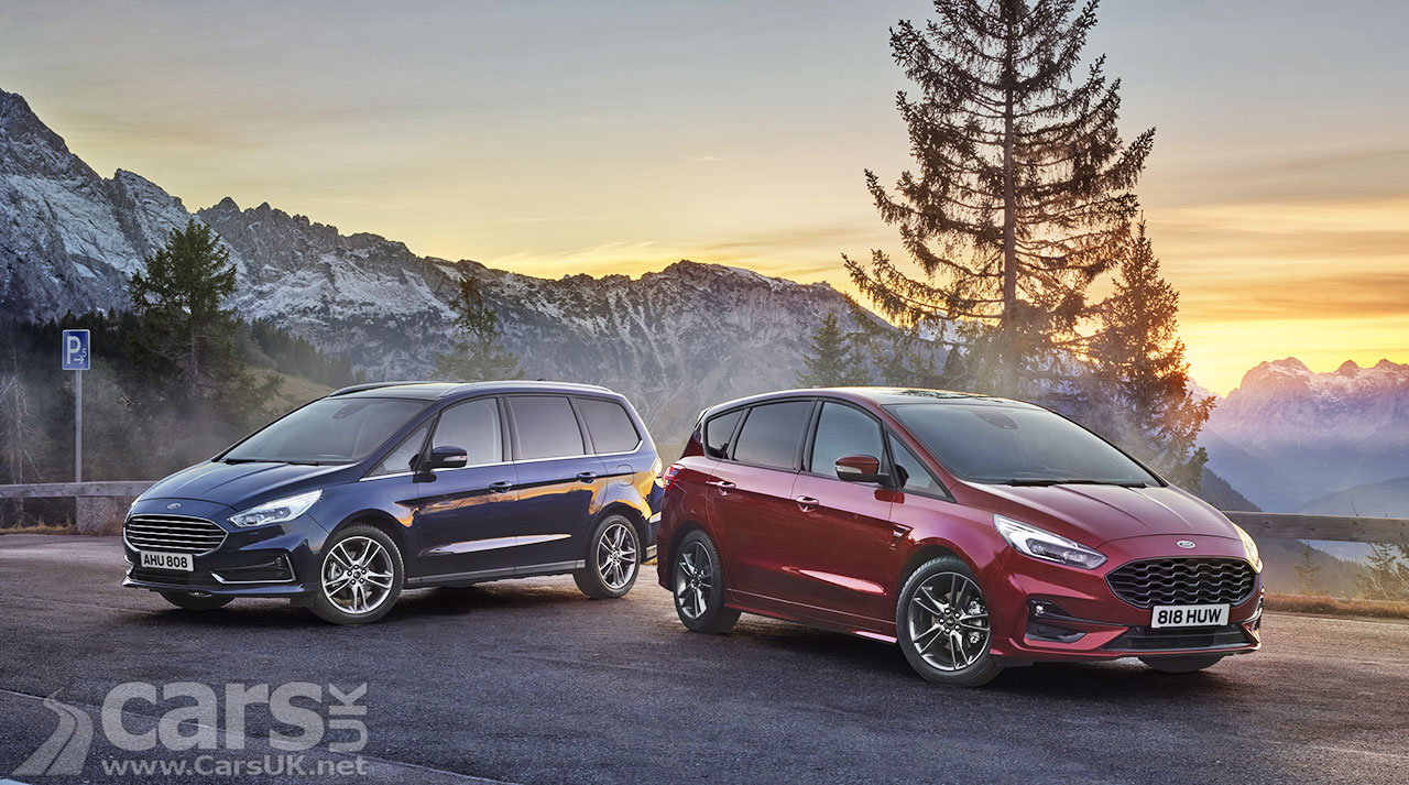 Photo Ford S-MAX and Ford Galaxy MPV Hybrids