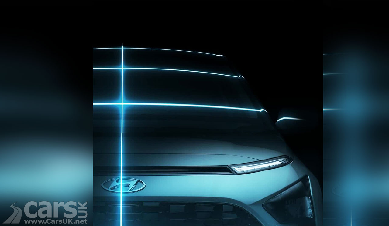 Photo Hyundai Bayon Compact SUV tease