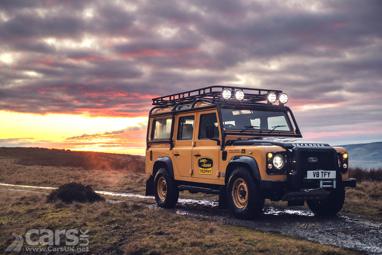 Photo Land Rover Defender V8 Trophy