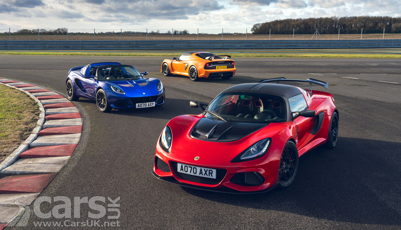 Photo Lotus Elise and Exige Final Edition models