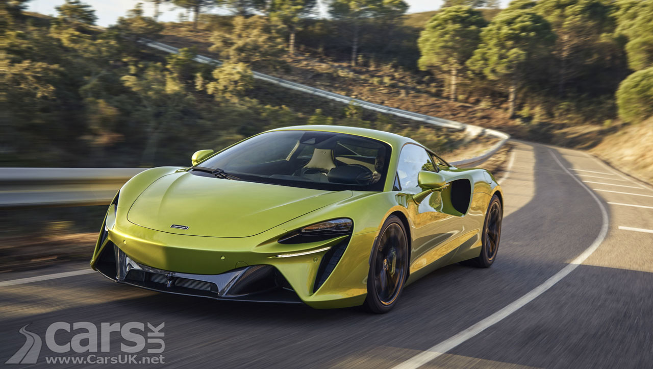 Photo McLaren Artura Plug-in Hybrid Supercar