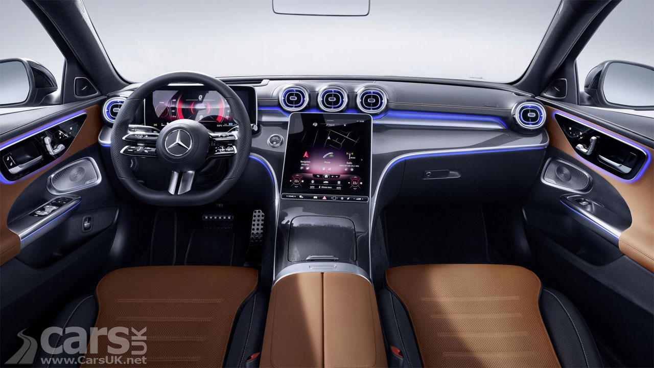 Photo 2021 Mercedes C-Class Interior