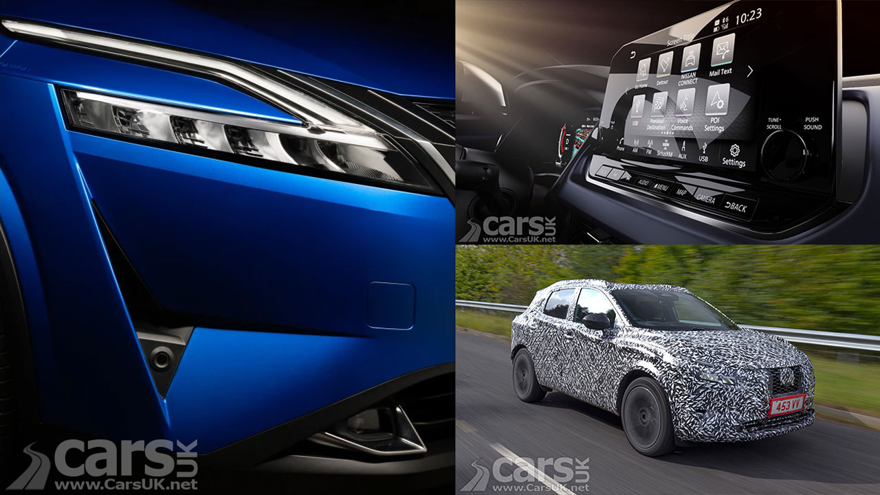 Photo new Nissan Qashqai teaser