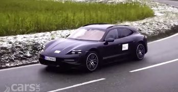 Photo Porsche Taycan Cross Turismo video tease