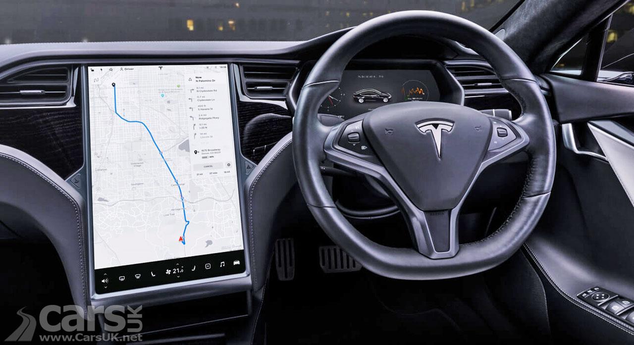 Photo Tesla Touchscreen