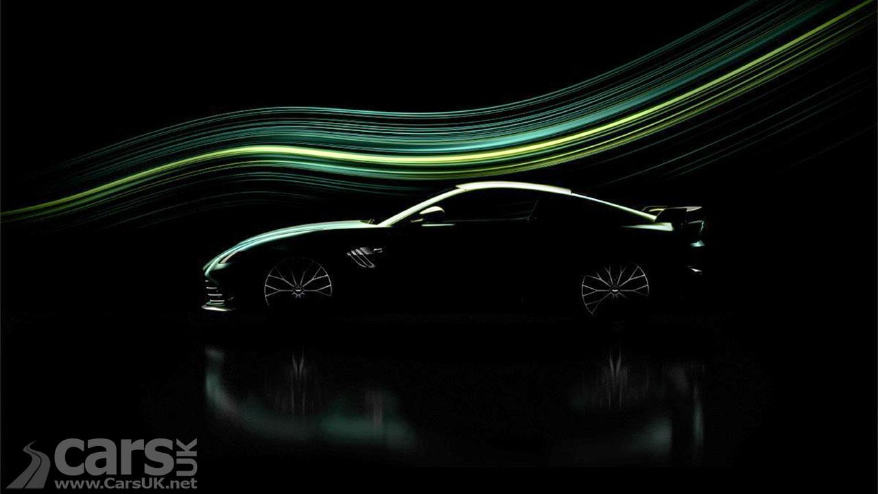 Photo New Aston Martin Vantage model tease