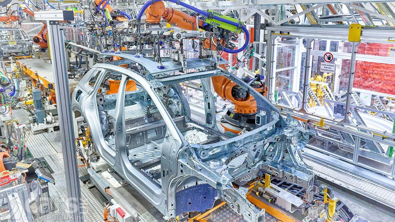 Photo Audi Q4 E-Tron production