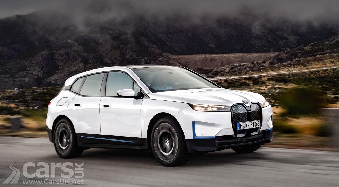 Photo Electric BMW iX SUV