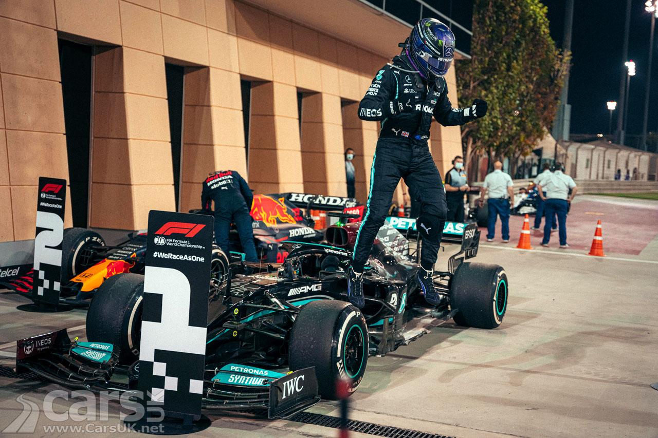 Photo Lewis Hamilton wins 2021 Bahrain Grand Prix