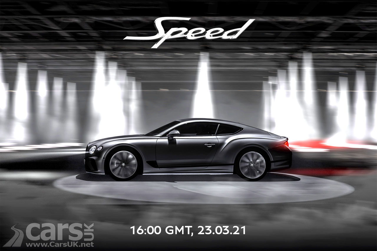 Photo New Bentley Continental GT Speed Tease